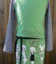 tricot meisjes groen voorbeeld