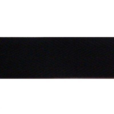 keperband 30mm zwart