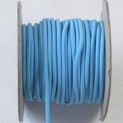 elast koord lichtblauw