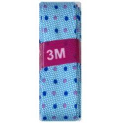 3m stip aqua-kobalt-roze