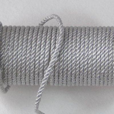 koord zilver gedraaid 3mm