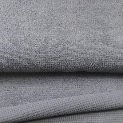 wavelstof grijs
