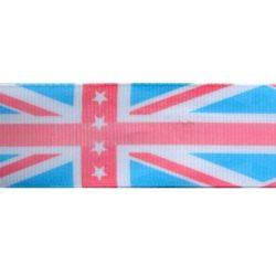 engelse vlag roze aqua