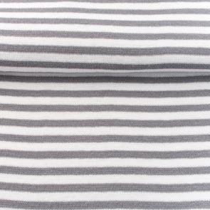 boordstof streep grijswit