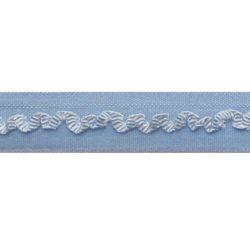 biaisband elastisch kantje lichtblauw