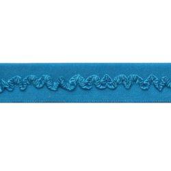 biaisband elastisch kantje aqau