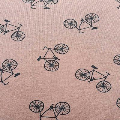 knip tricot fiets roze