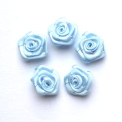 roosjes 15mm lichtblauw