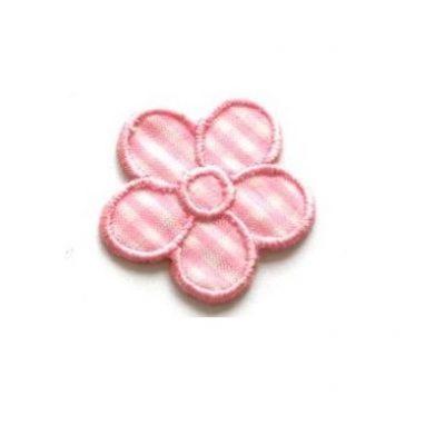 appli bloem roze