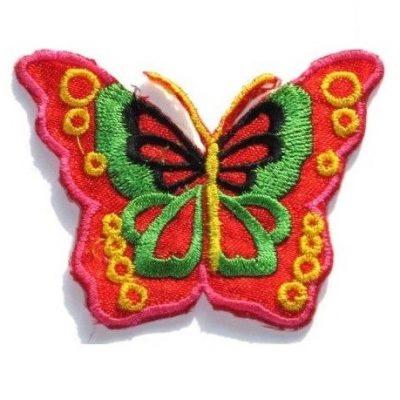 appli vlinder rood