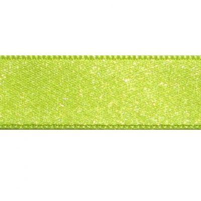 satijnlint 15mm neon-geel