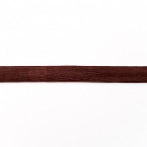 elastiek 15mm bruin