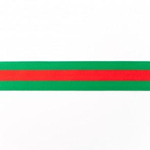 vlaggenband roodgroen-25mm