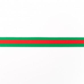 vlaggenband roodgroen-15mm