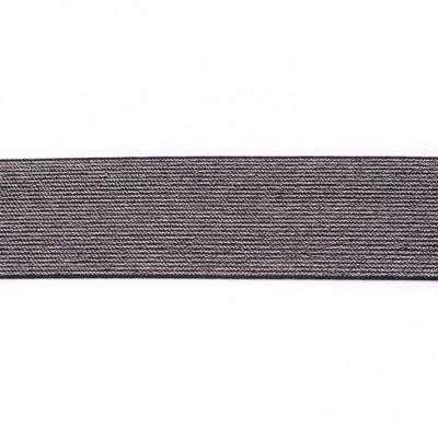 kvh42583-zwart-5-cm-breed-glitter-elastiek