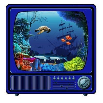 strijkappli tv aquarium