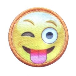 appli smiley tong
