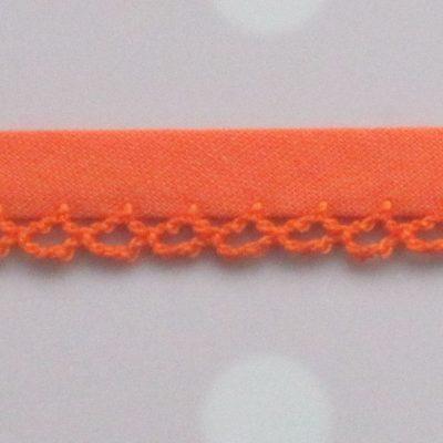bb gehaakte rand oranje