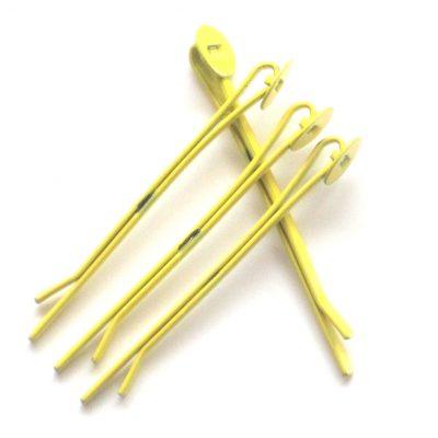 schuifspeldjes geel