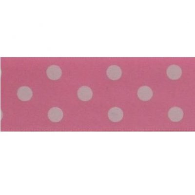 stippenlint 25mm roze