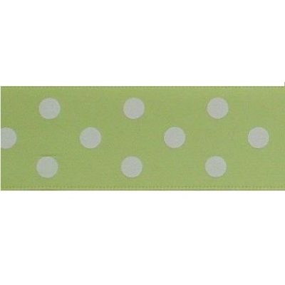 stippenlint 25mm lime-groen