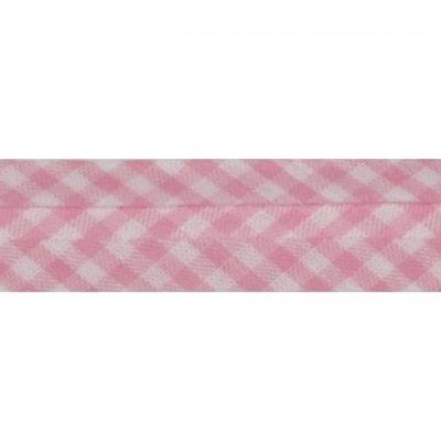 bb katoen ruit roze
