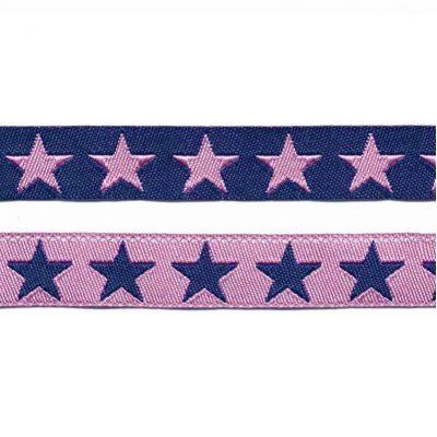 sierband sterren rozeblauw