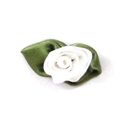 roosjesblad 30mm wit