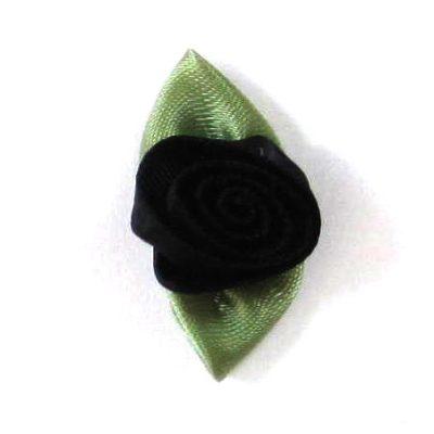 roosjesblad 30mm zwart