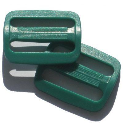 schuifgespen 40mm groen