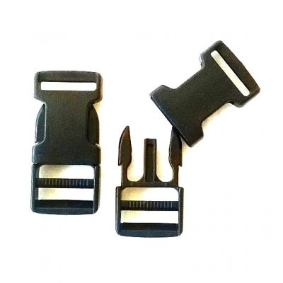 tasgespen 15mm zwart