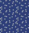 stof driehoekjes blauw