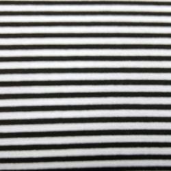 streep zwart-wit 1,0cm