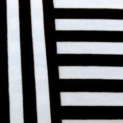 streep zwart-wit 1,5cm