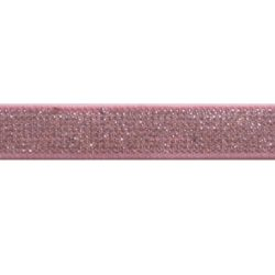 elast band roze glitter