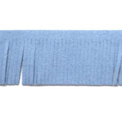 franjeband suede 3cm jeans