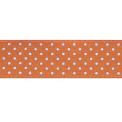 stippenlint oranje littledot 25mm